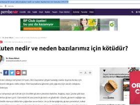 milliyet.com.tr – gluten
